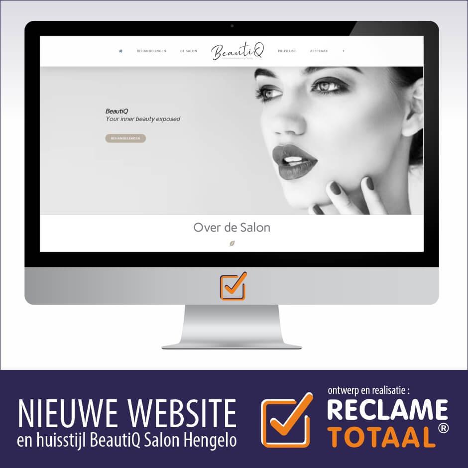 Website Beautiq Salon